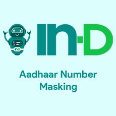 IN-D Aadhaar Number Masking